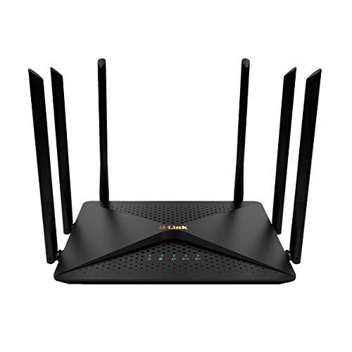 Roteador Wireless Ac 1200Mbps Wan/Lan Gigabit-Ethernet 802.11Ac com 6 Antenas Externas 5Dbi