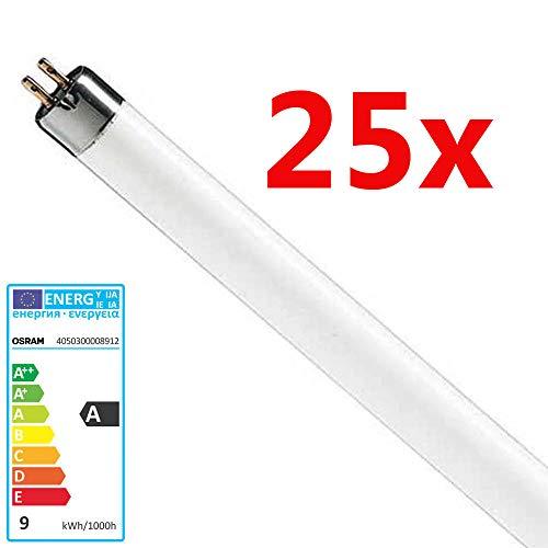 25x Osram LEUCHTSTOFFLAMPE 8 Watt 640 Notlicht Lumilux Neonlampe Neonröhre Standard