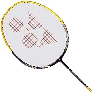 Yonex Nanoray 20 Badminton Strung Racket (Black/Yellow)(3UG4)
