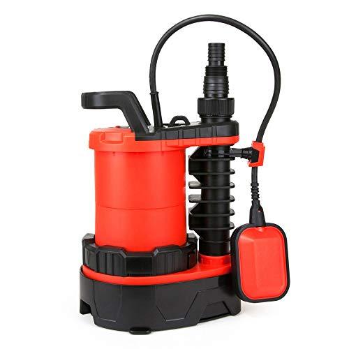 Grafner® 3in1 Kombitauchpumpe | 750 Watt | 16000 L/h | schlagfestes Gehäuse | Förderhöhe bis 7,5 Meter | einstellbarer Schwimmschalter | mit Rückschlag | flachsaugen | Tauchpumpe Kombi Pumpe 3in1