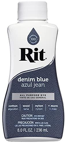 Rit All-Purpose Liquid Dye, Denim Blue