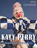 Katy Perry 2022 Calendar: 18-month Grid Monthly Yearly Calendar for all ages and genders with 8.5'' x 11''