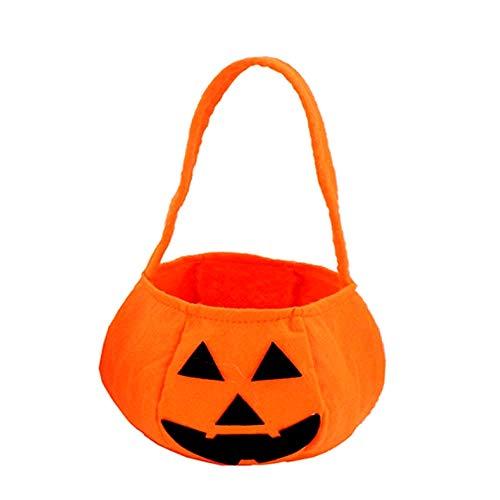 Bolso de Halloween - calabaza - truco o trato - disfraz - disfraz - accesorios - idea de regalo para navidad y cumpleaños
