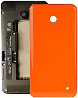 Battery case Jrc Housing Battery Back Cover + Side Button for Nokia Lumia 635 (Orange) Mobile phone accessories (Color : O...
