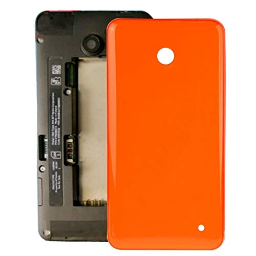 Liluyao Telefon-Ersatzteile Gehäuse Batterie Rückseite + Seitentaste for Nokia Lumia 635 (Orange) (Farbe : Orange)