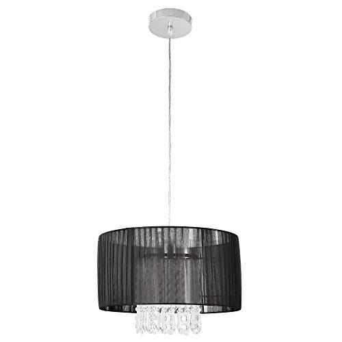 Lüster Kronleuchter - Barock - (1 x E27 Sockel)(100 cm x Ø 35 cm) Kronlampe Lüster Anschluss Zimmerlampe Wohnzimmerlampe