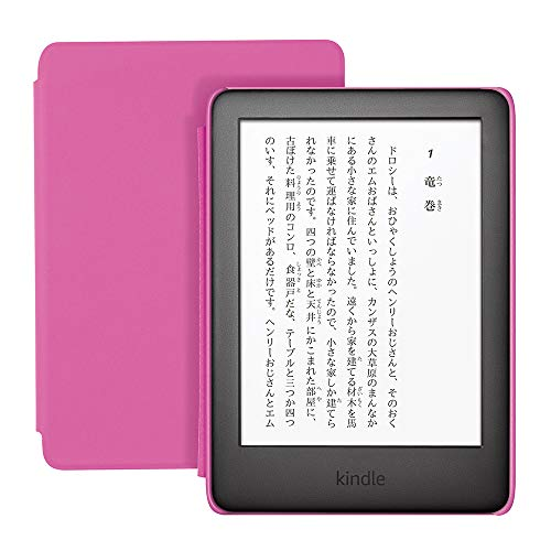Kindleキッズモデル1,000冊以上の子ども向けの本が1年間読み放題ピンクカバー