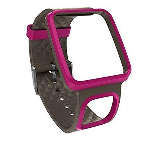 TomTom Damen GPS Uhr Wechselarmband, pink, schmales Armband