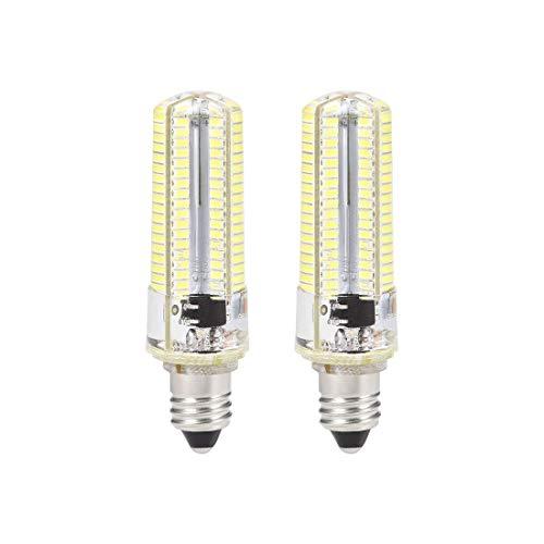 N/D E11 - Bombilla LED para horno de microondas (4 W, luz del día, 6500 K, 600 lm, para ventilador de techo, luminaria, congelador y campana 2 unidades)