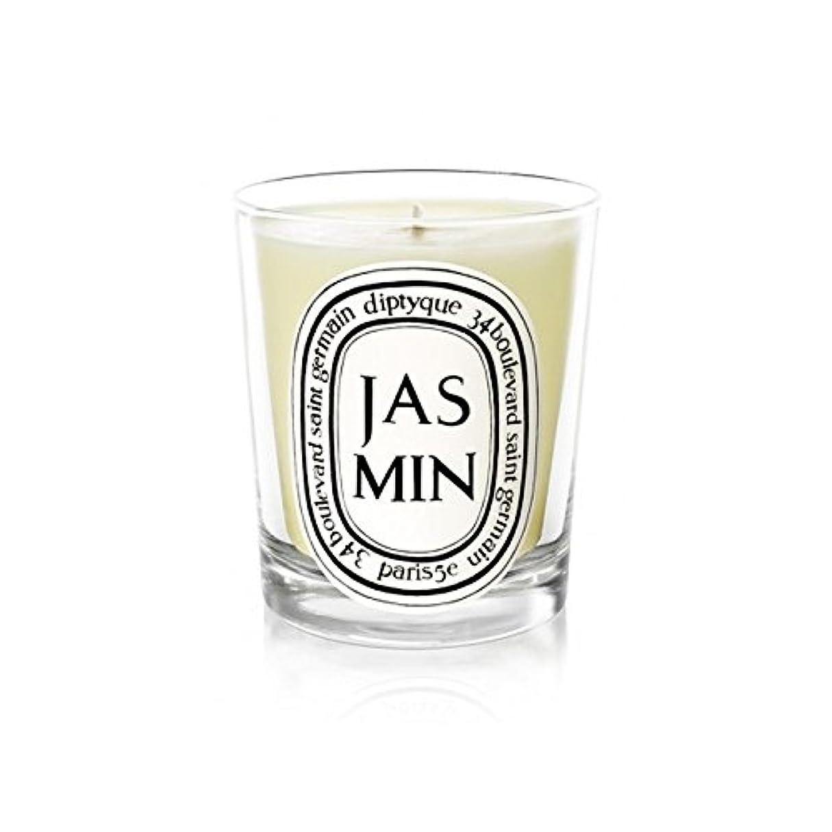 治療アジャ斧Diptyque Candle Jasmin / Jasmine 190g (Pack of 6) - Diptyqueキャンドルジャスミン/ジャスミン190グラム (x6) [並行輸入品]