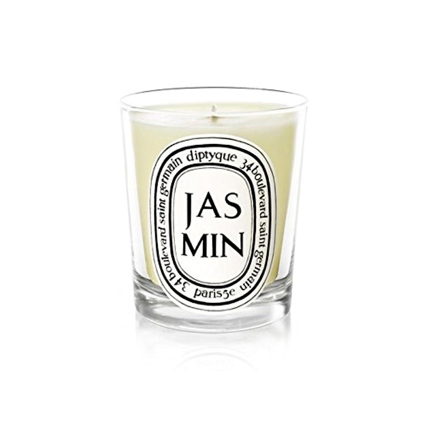印象速記どれでもDiptyque Candle Jasmin / Jasmine 190g (Pack of 6) - Diptyqueキャンドルジャスミン/ジャスミン190グラム (x6) [並行輸入品]