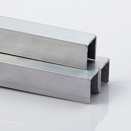 Alu U- Profil 20 x 20 x 20 x 2 mm 2000 mm lang