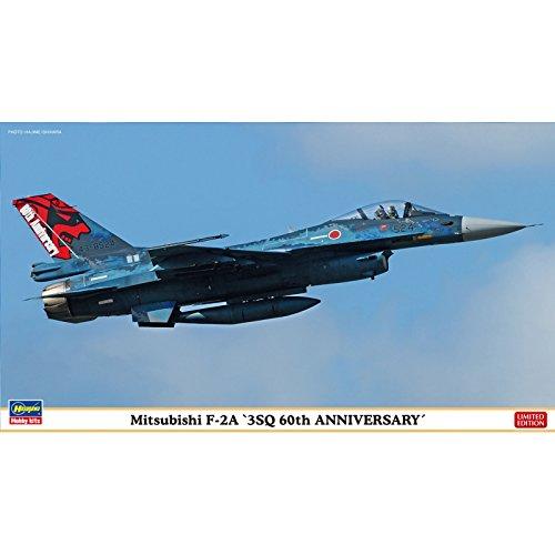 ハセガワ 1/72 航空自衛隊 三菱 F-2A 3SQ 60周年記念 プラモデル 02261