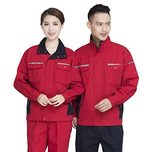 BBGS Traje de Caldera para Hombre,Mecánica Tapa Protectora Polialgodón en General Pantalones y Abrigos Pantalón Boilersuit (Color : Style 3, Size : XXXXL)