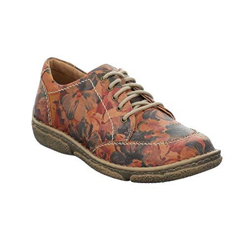 Josef Seibel Mujer Zapatos con Cordones Neele 02, señora Calzado cómodo