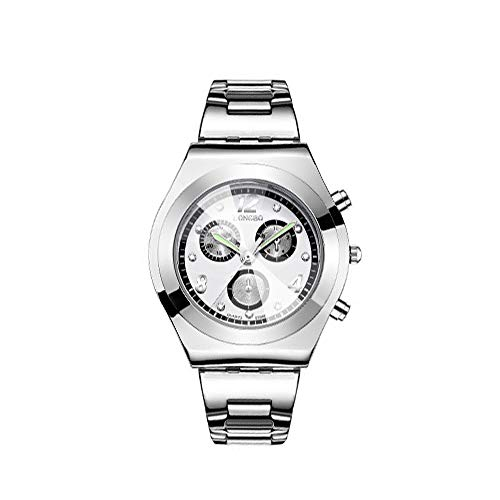 LONGBO Mode Edelstahl Uhrenarmband Uhr Dame Elegante Kleid Armbanduhr Frauen Klassische Quarz Uhren