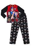 Boys WWE World Wrestling Entertainment John Cena Long Pyjamas (7-8 Years) Black