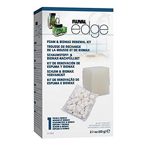 Fluval Edge Schaumstoff und Biomax Nachfüllset