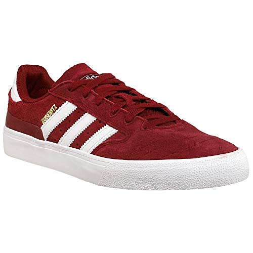adidas Mens Busenitz Vulc Ii Lace Up Sneakers Shoes Casual - Burgundy - Size 10.5 D