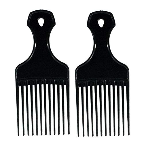 Amelia Beauty Products Comb de piques en plastique.