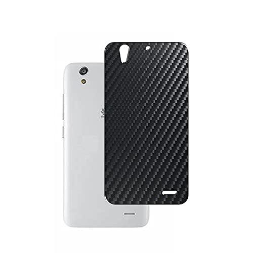 二枚 Sukix 背面保護フィルム 、 Huawei Ascend G620S 向けの ブラック カーボン調 TPU 保護フィルム 背面 フィルム スキンシール 背面保護 背面フィルム(非 ガラスフィルム 強化ガラス ガラス ケース カバー ) new version