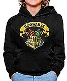 Sudadera de NIÑOS Harry Potter Hogwarts Slytherin Gryffindor 015 9-11 Años