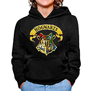 Sudadera de NIÑOS Harry Potter Hogwarts Slytherin Gryffindor 015 26