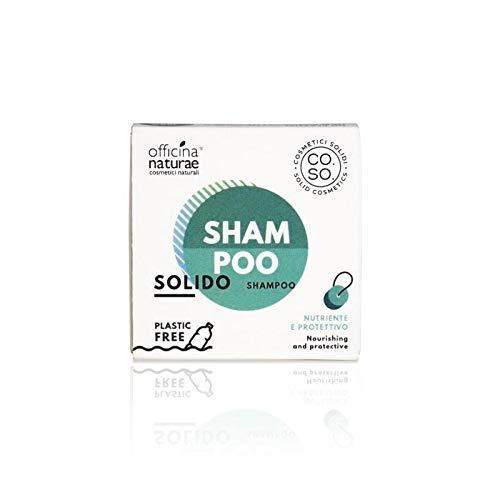 Shampoo solido nutriente e protettivo co.so. cosmetici solidi