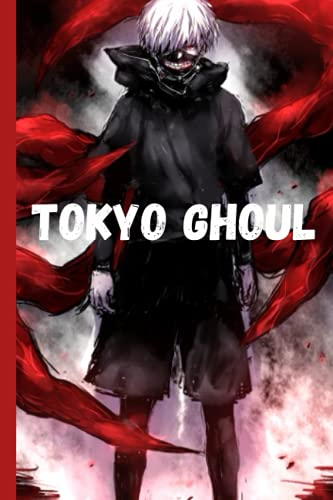 """TOKYO GHOUL: KANEKI NOTEBOOK ● TOKYO GHOUL ● 120 LINED PAGES, 6"""" x 9"""" ●"""