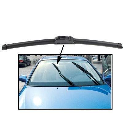 KANJJ-YU Herramientas 18 pulgadas de coche universal Parabrisas Rascador (BO880) (Negro) Durable Hoja de diamante