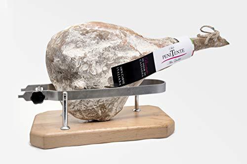 Prosciutto 'Penitente' (prosciutto crudo al profumo di castagna) | prosciutto intero con osso da 10 kg | Salume...