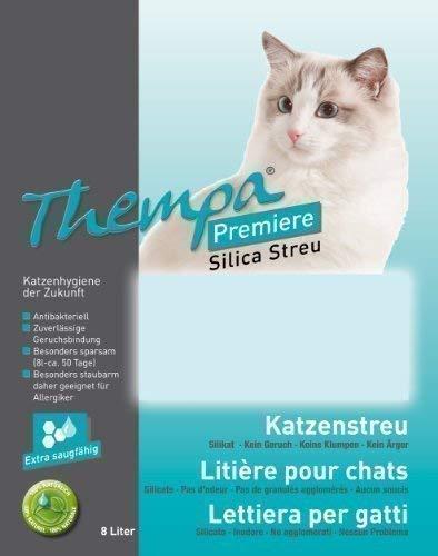 Thempa Premiere Katzenstreu 2 x 8 ltr. Doppelpack 16L
