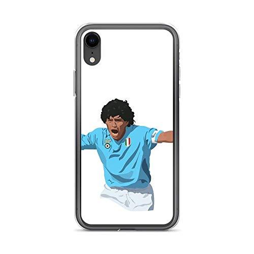 Diego Maradona-Napoli Captain Custodie per Telefoni iPhone 12/11 Pro Max 12 mini SE X/XS Max XR 8 7 6 6s Plus Custodie Cover