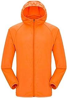 BEESCLOVER Women Man Outdoor Quick Dry Summer Jacket Plus 4XL Camping Running Waterproof