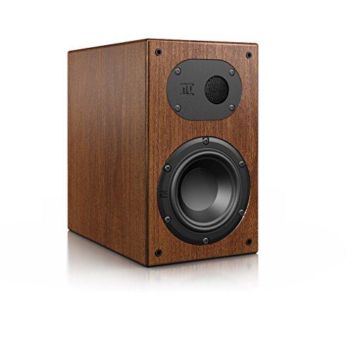 Nubert nuLine 24 Dipollautsprecher | Lautsprecher für Heimkino & HiFi | Musikgenuss auf hohem Niveau | Passive Surroundbox mit 2 Wege Technik Made in Germany | Kompaktlautsprecher Nussbaum | 1 Stück
