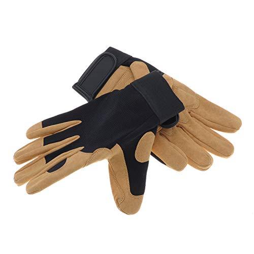 Jardiaffaires Paire de Gants de Travail adaptée pour Le bucheronnage Solidur Precision Taille 10