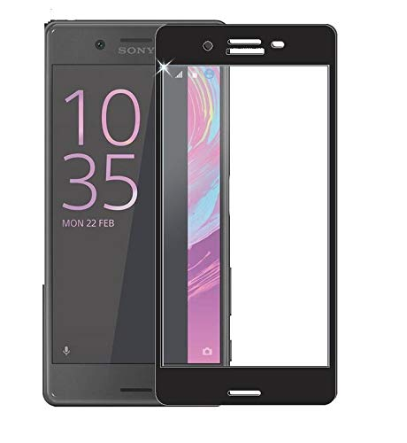 ELICA 6D Full Curve Tempered Glass for Sony Xperia X Dual - Black