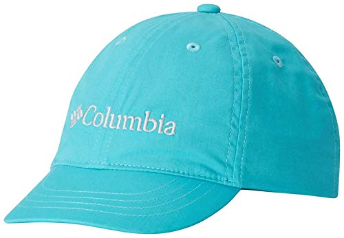 Columbia Gorra para niños, Youth Adjustable Ball Cap, Algodón, Azul (Geyser), Talla: O/S, 1644971