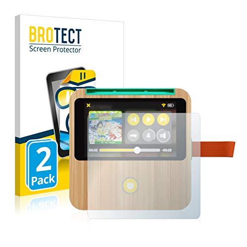 BROTECT Schutzfolie kompatibel mit tigerbox Touch (2 Stück) klare Displayschutz-Folie
