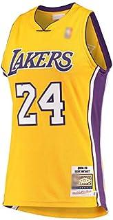 CJQH Outdoor Basketball T-shirt Kobe Los Angeles NO.24 Lakers Bryant Hardwood Classics 2008-09 Jersey ad asciugatura rapida Sport a maniche corte per gli uomini-oro