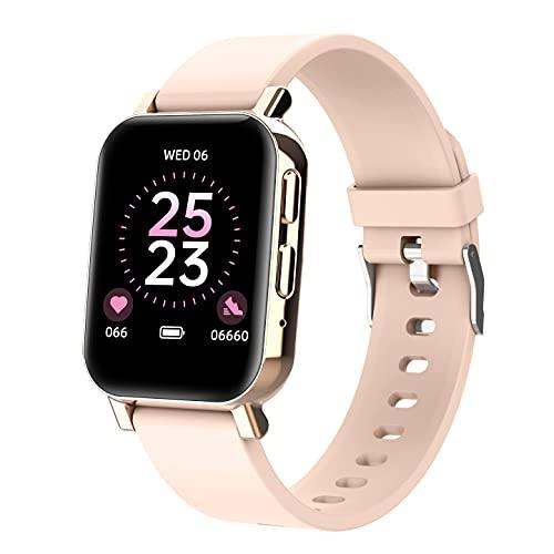 ZGZYL HZ28 Smart Watch Señora con Función del Teléfono, Reloj De Fitness Podómetro Reloj Reloj Deportivo con Presión Arterial Y Monitoreo De Frecuencia Cardíaca,G