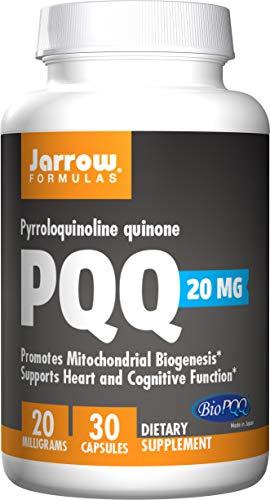 Jarrow Formulas Jarrow Pyrroloquinoline Quinone PQQ (20mg, 30 Capsules), 1 Units