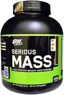 Optimum Nutrition Serious Mass Chocolate Weight Gain Powder 8 Servings 6 Lbs(2.72 Kgs)