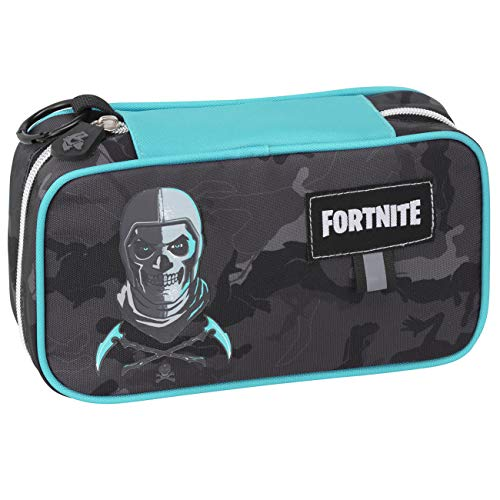 Astuccio Bustone Ovale Maxi Compatibile con Fortnite Skull Trooper