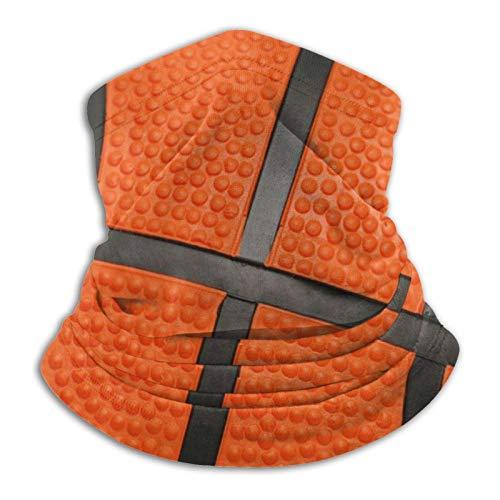 KKLDOGS Baloncesto negro línea de microfibra calentador de cuello bufanda bufanda tiempo frío invierno deportes al aire libre bandana pasamontañas unisex