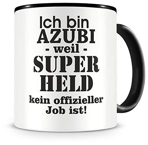 Samunshi® Ich bin Azubi Tasse Beruf Geschenk Kaffeetasse Teetasse Kaffeepott Kaffeebecher Becher 300ml Azubi