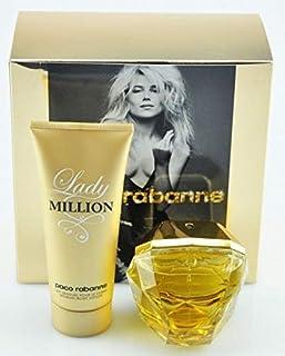 Paco Rabanne Gift set - Lady Million 80ML Eau de Parfum - 100 ml. Body lotion
