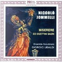 Jommelli: Miserere sei duettini sacri