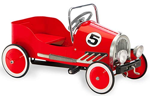 Morgan Cycle Retro Style Pedal Car, Red (21114)