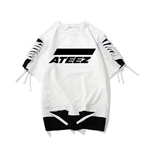 Stray Kids Mamamoo Top tee Ikon Korean T Shirt Nct127 Ateez Fashion Women/Men Shirt Unisex